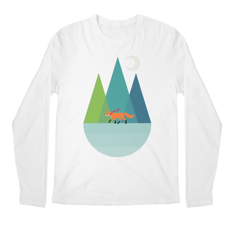 Walk Alone Men's Regular Longsleeve T-Shirt by andywestface's Artist Shop