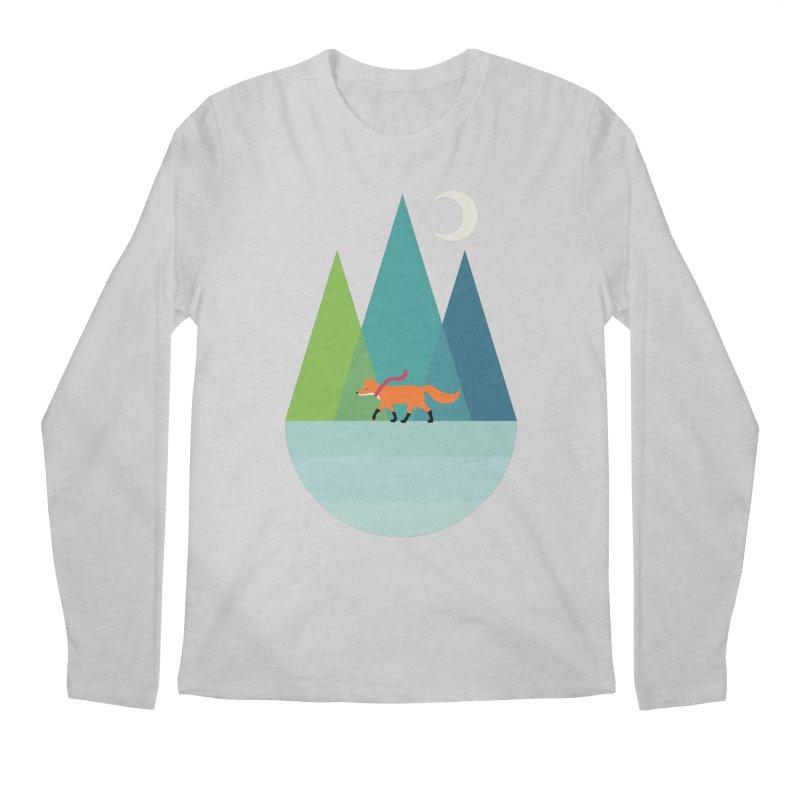 Walk Alone Men's Regular Longsleeve T-Shirt by andywestface's Artist Shop