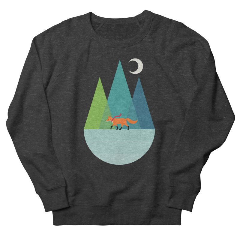 Walk Alone Women's French Terry Sweatshirt by andywestface's Artist Shop