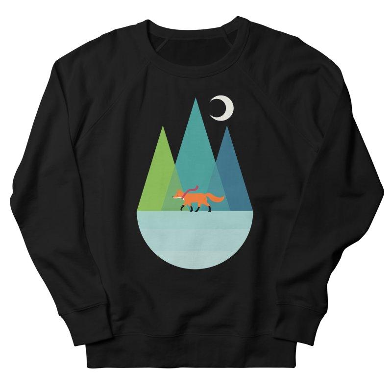 Walk Alone Women's French Terry Sweatshirt by andywestface's Artist Shop