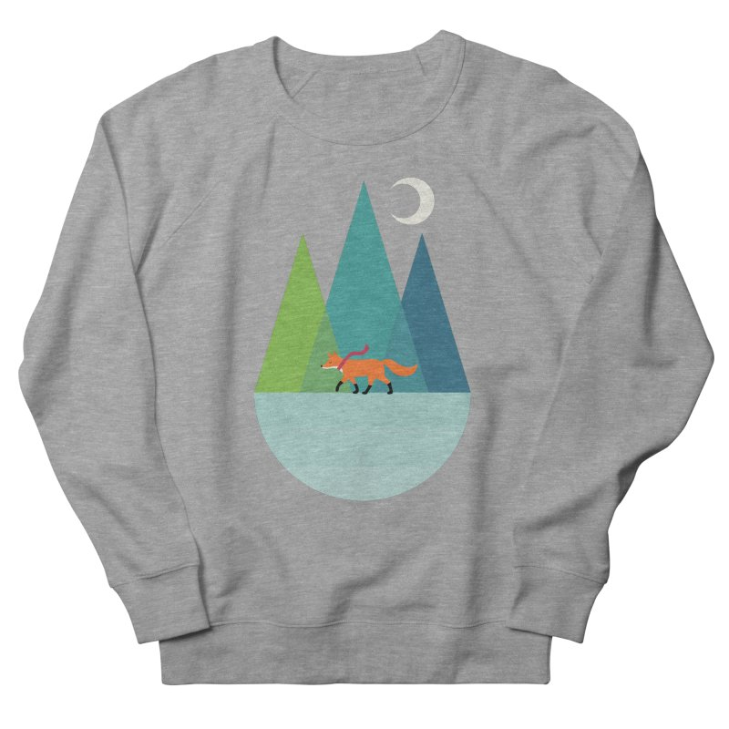 Walk Alone Men's French Terry Sweatshirt by andywestface's Artist Shop