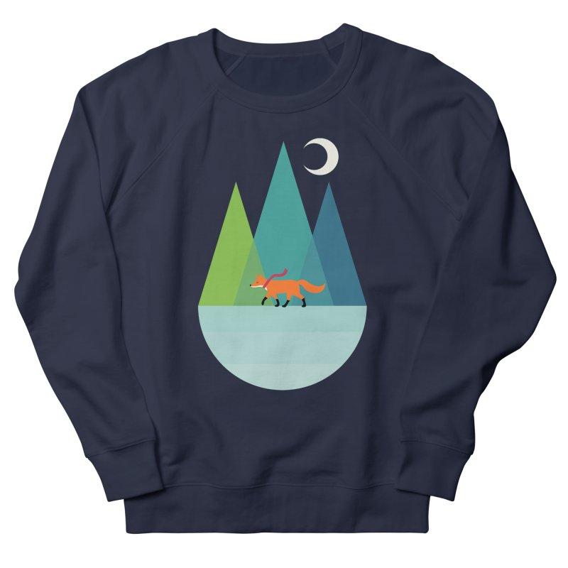 Walk Alone Men's French Terry Sweatshirt by andywestface's Artist Shop