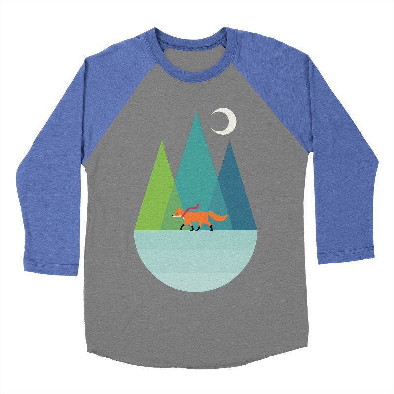 Walk Alone Women's Baseball Triblend Longsleeve T-Shirt by andywestface's Artist Shop