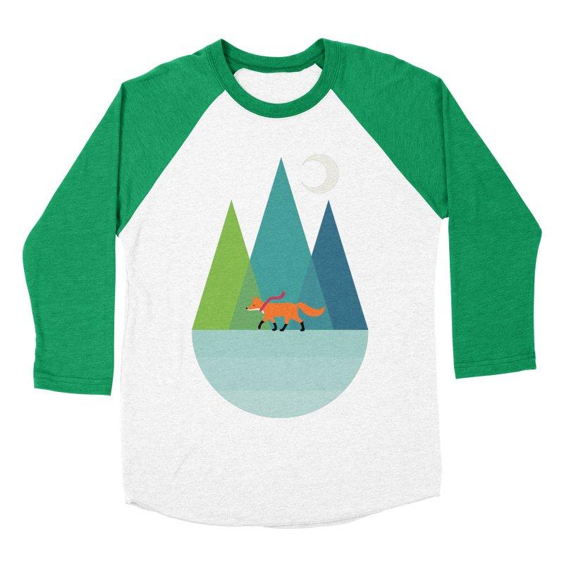 Walk Alone Men's Baseball Triblend Longsleeve T-Shirt by andywestface's Artist Shop