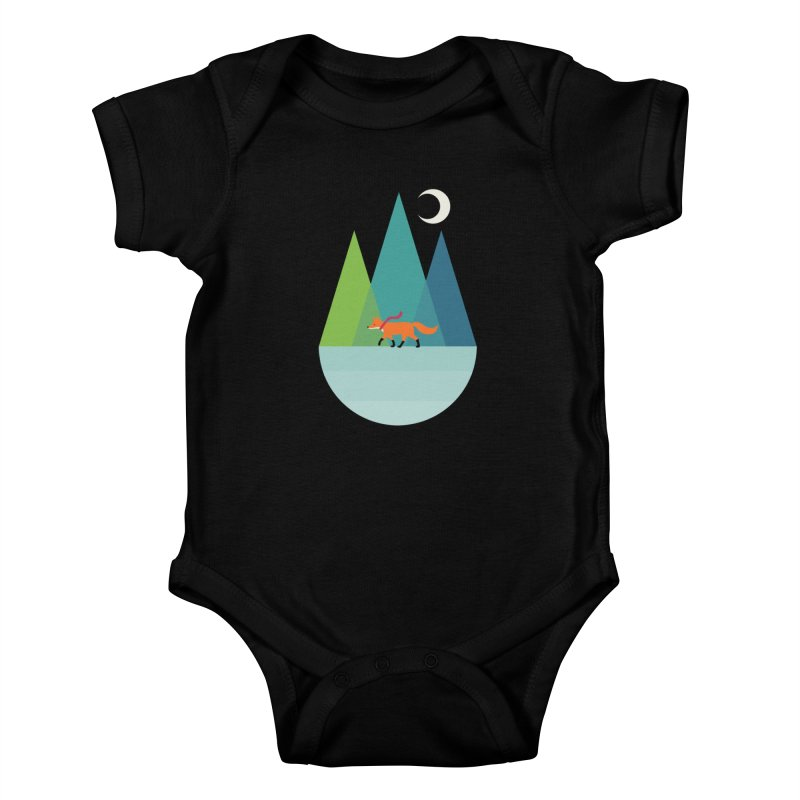Walk Alone Kids Baby Bodysuit by andywestface's Artist Shop
