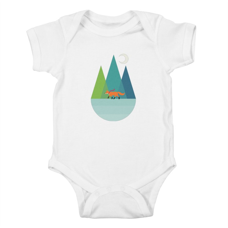 Walk Alone Kids Baby Bodysuit by andywestface's Artist Shop