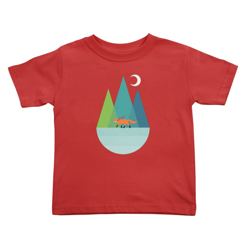 Walk Alone Kids Toddler T-Shirt by andywestface's Artist Shop