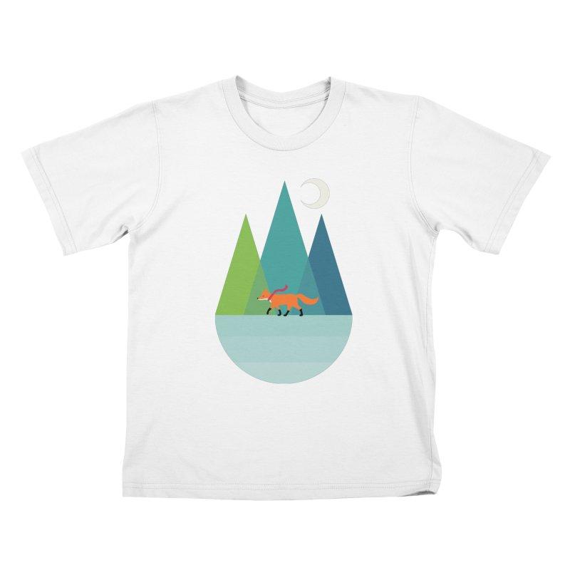 Walk Alone Kids T-Shirt by andywestface's Artist Shop