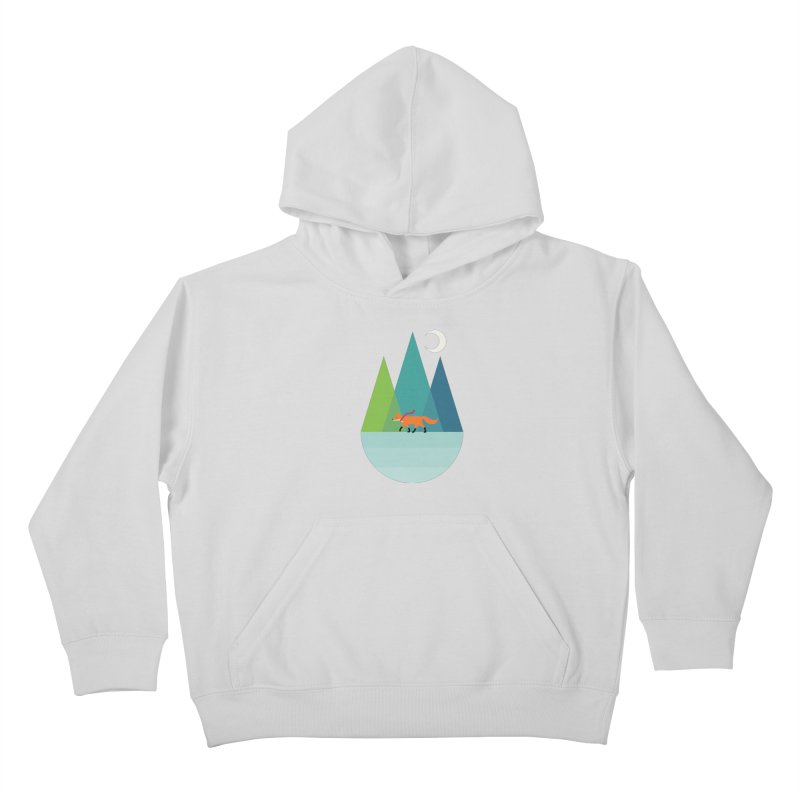 Walk Alone Kids Pullover Hoody by andywestface's Artist Shop