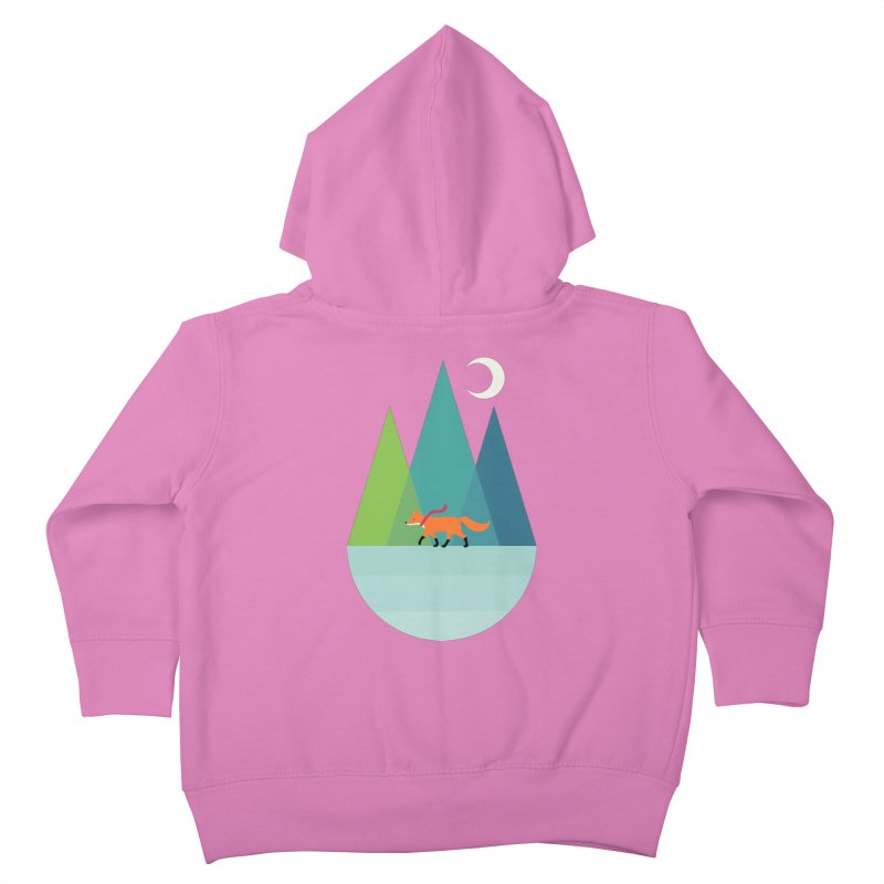 Walk Alone Kids Toddler Zip-Up Hoody by andywestface's Artist Shop
