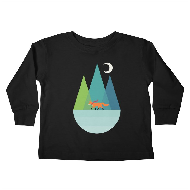 Walk Alone Kids Toddler Longsleeve T-Shirt by andywestface's Artist Shop