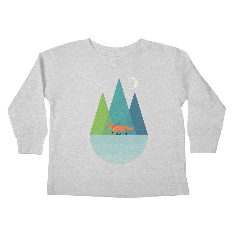 Walk Alone Kids Toddler Longsleeve T-Shirt by andywestface's Artist Shop