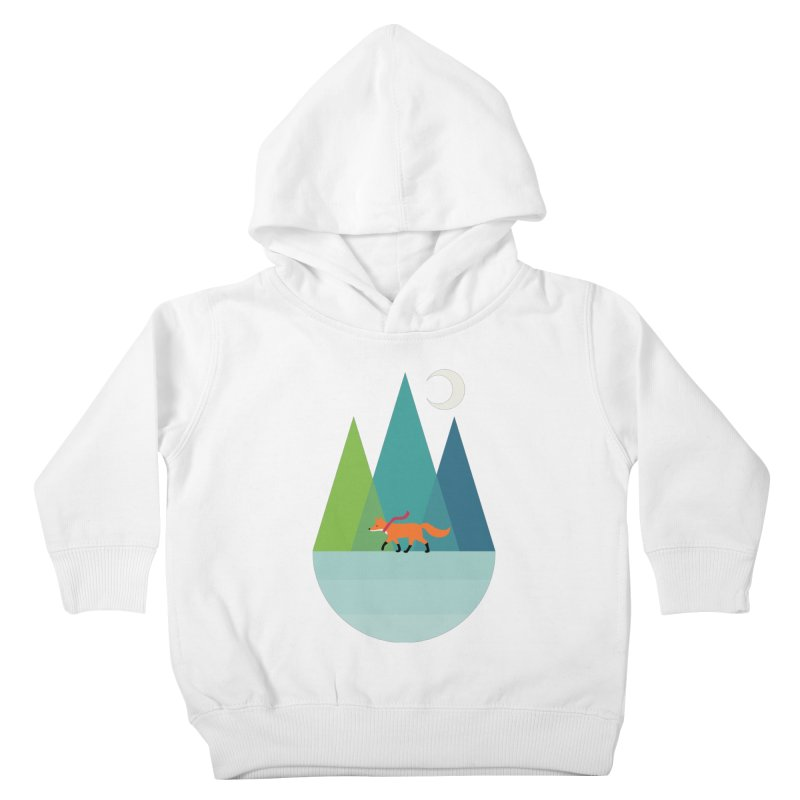 Walk Alone Kids Toddler Pullover Hoody by andywestface's Artist Shop
