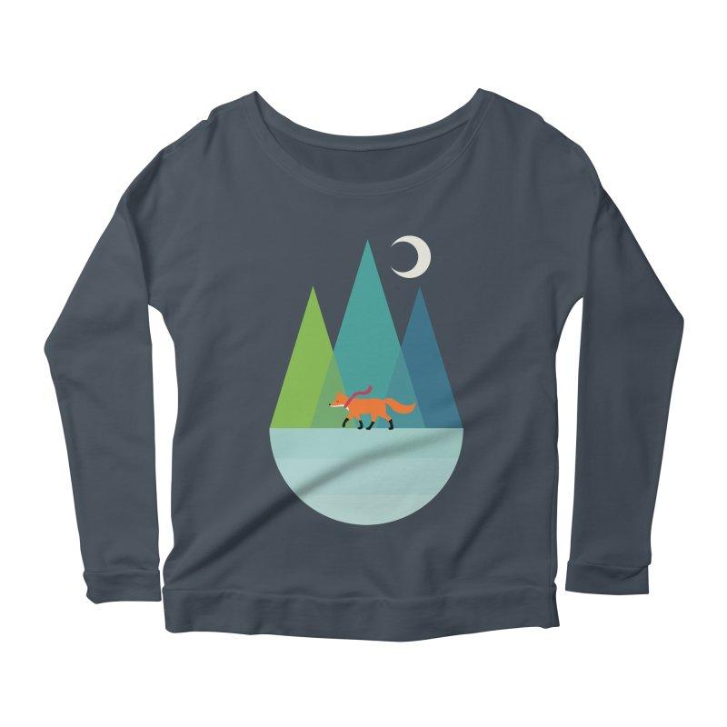 Walk Alone Women's Scoop Neck Longsleeve T-Shirt by andywestface's Artist Shop