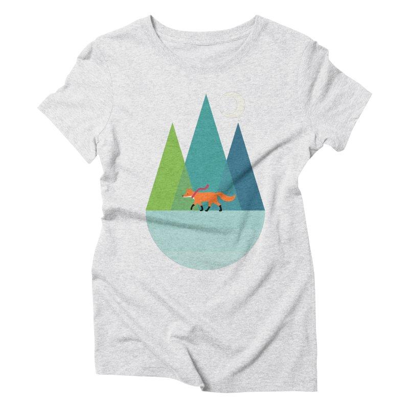 Walk Alone Women's Triblend T-Shirt by andywestface's Artist Shop