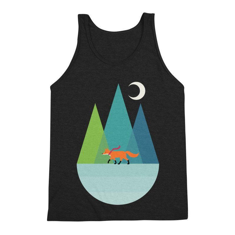 Walk Alone Men's Triblend Tank by andywestface's Artist Shop