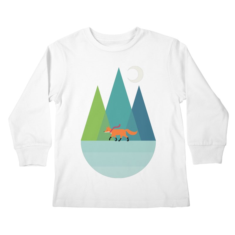 Walk Alone Kids Longsleeve T-Shirt by andywestface's Artist Shop