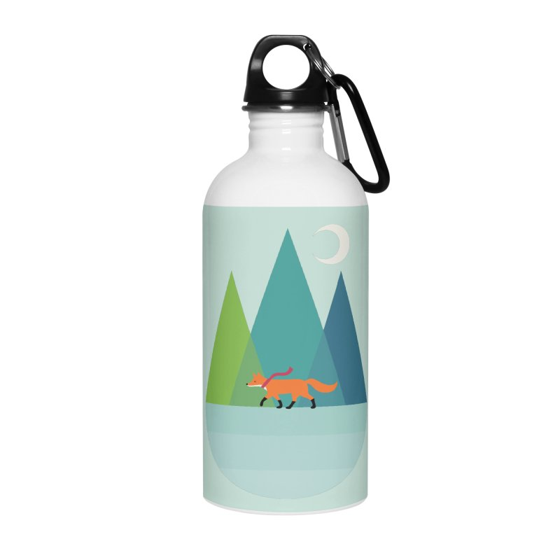 Walk Alone Accessories Water Bottle by andywestface's Artist Shop