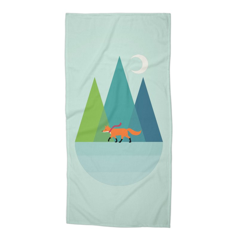 Walk Alone Accessories Beach Towel by andywestface's Artist Shop