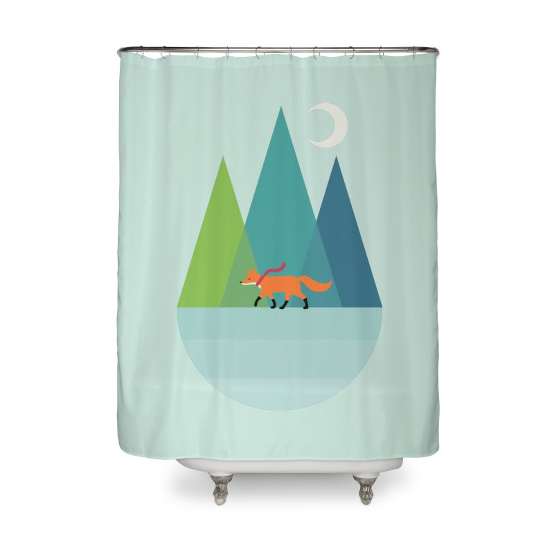 Walk Alone Home Shower Curtain by andywestface's Artist Shop