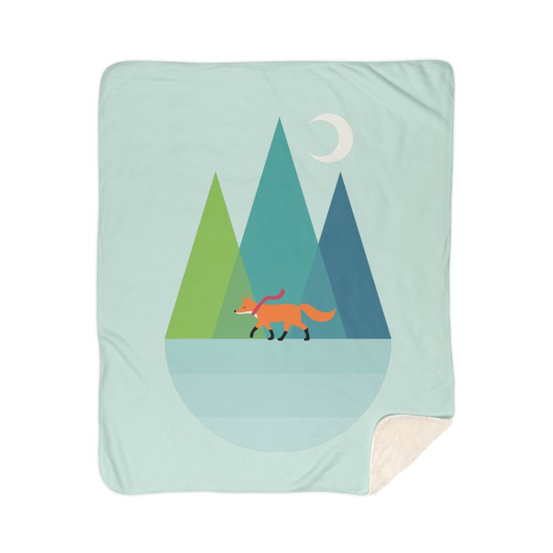 Walk Alone Home Sherpa Blanket Blanket by andywestface's Artist Shop