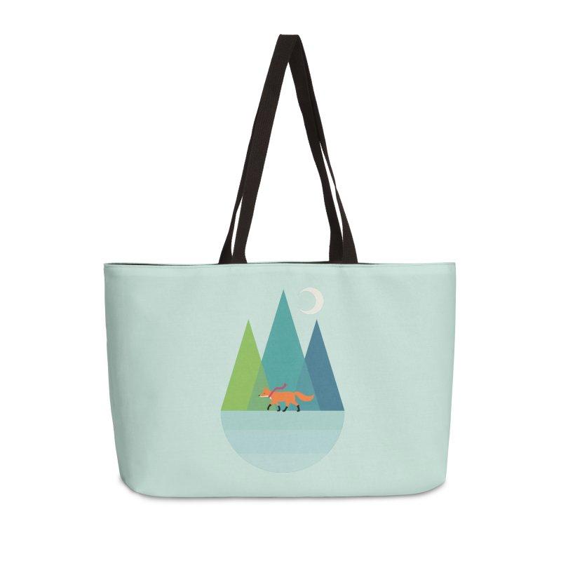 Walk Alone Accessories Weekender Bag Bag by andywestface's Artist Shop