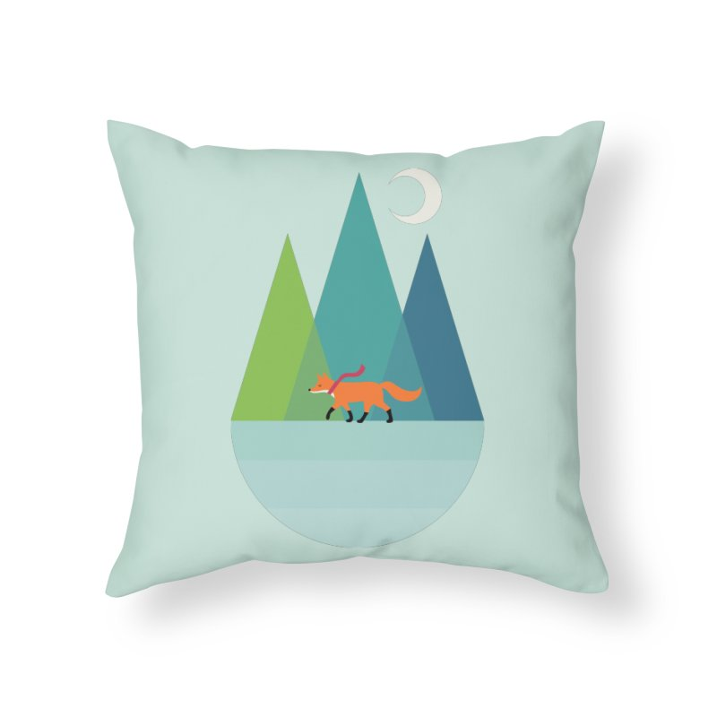 Walk Alone Home Throw Pillow by andywestface's Artist Shop