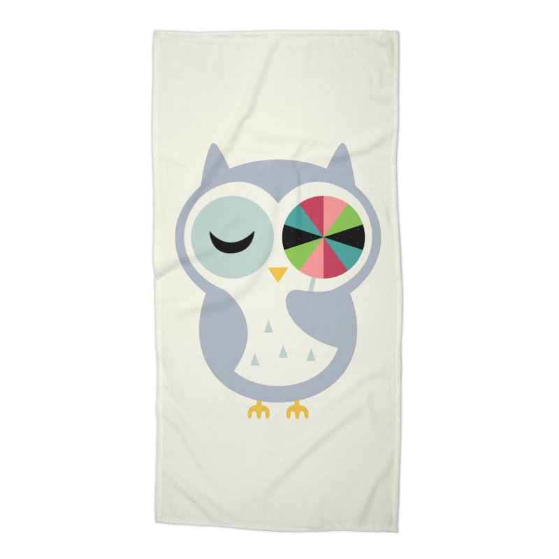 Sweet Holiday Wishes Accessories Beach Towel by andywestface's Artist Shop