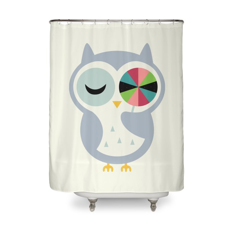 Sweet Holiday Wishes Home Shower Curtain by andywestface's Artist Shop