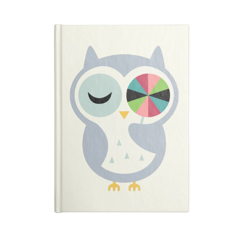 Sweet Holiday Wishes Accessories Lined Journal Notebook by andywestface's Artist Shop