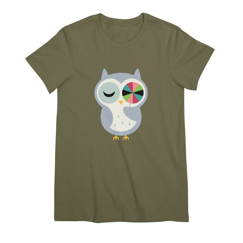 Sweet Holiday Wishes Women's Premium T-Shirt by andywestface's Artist Shop