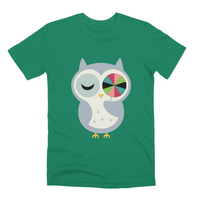 Sweet Holiday Wishes Men's Premium T-Shirt by andywestface's Artist Shop