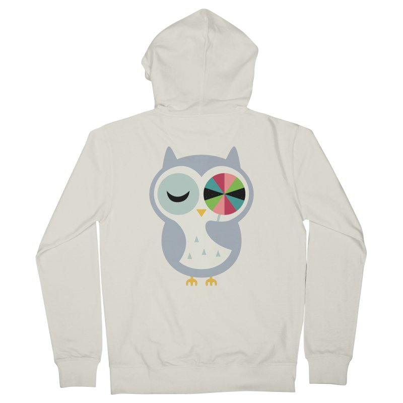 Sweet Holiday Wishes Men's French Terry Zip-Up Hoody by andywestface's Artist Shop