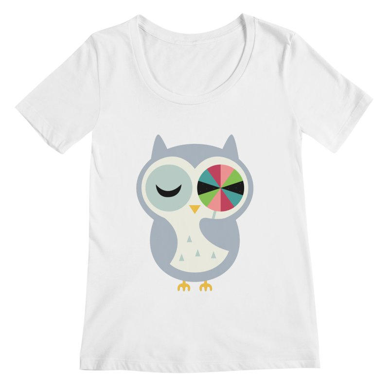 Sweet Holiday Wishes Women's Regular Scoop Neck by andywestface's Artist Shop