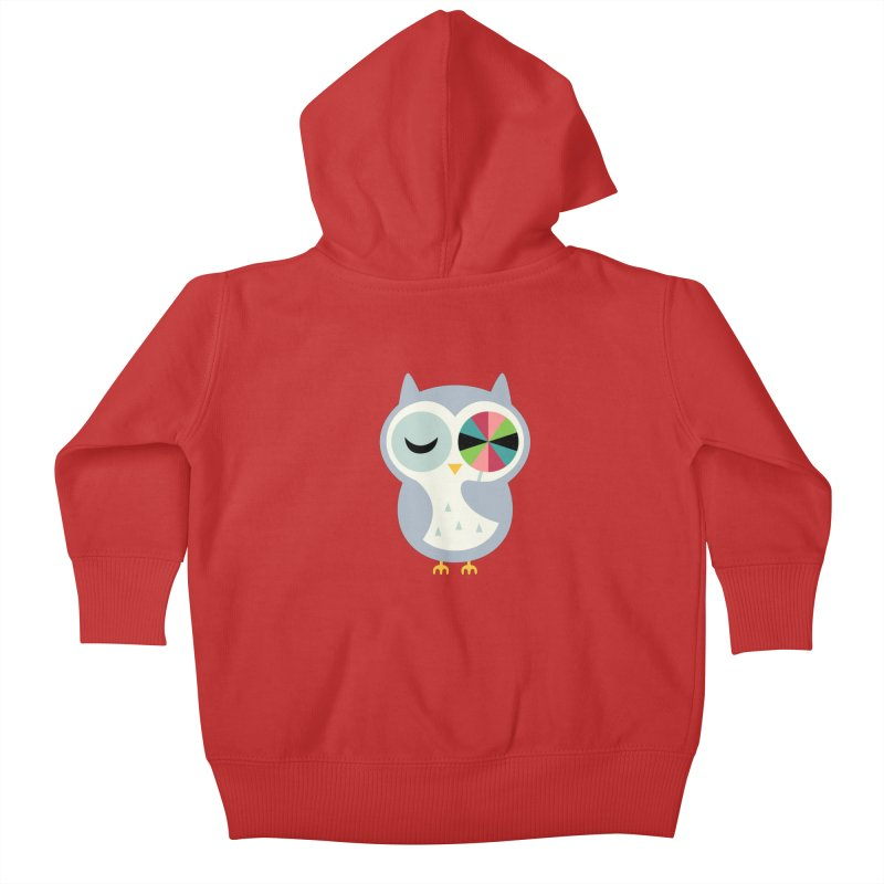 Sweet Holiday Wishes Kids Baby Zip-Up Hoody by andywestface's Artist Shop