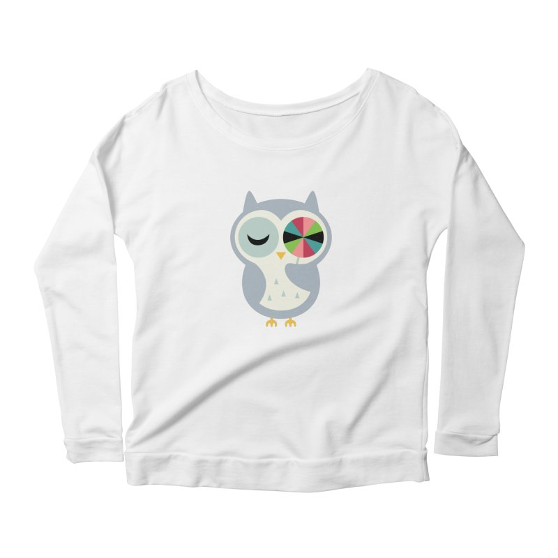 Sweet Holiday Wishes Women's Scoop Neck Longsleeve T-Shirt by andywestface's Artist Shop