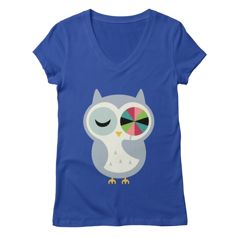 Sweet Holiday Wishes Women's Regular V-Neck by andywestface's Artist Shop