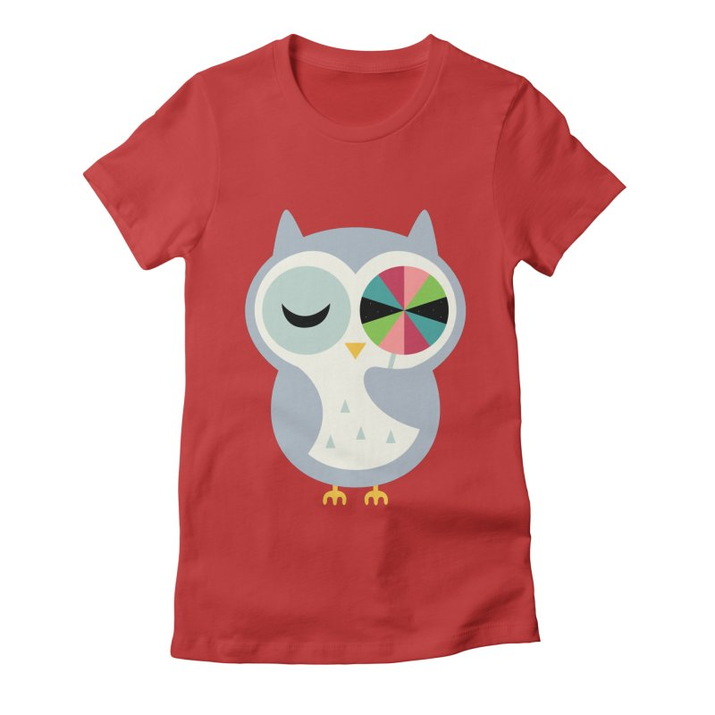 Sweet Holiday Wishes Women's Fitted T-Shirt by andywestface's Artist Shop