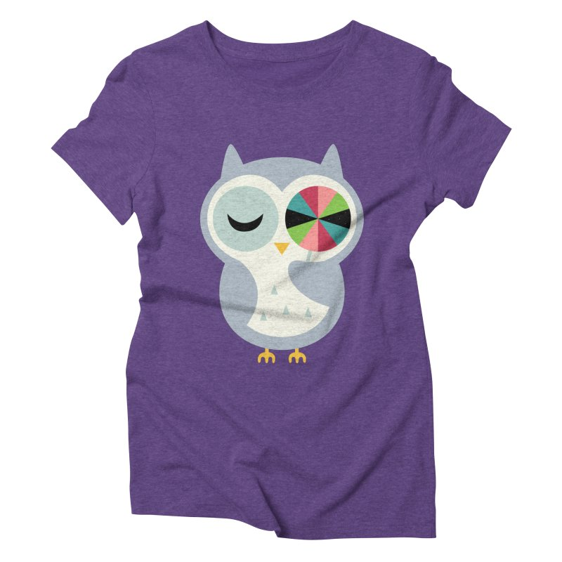 Sweet Holiday Wishes Women's Triblend T-Shirt by andywestface's Artist Shop