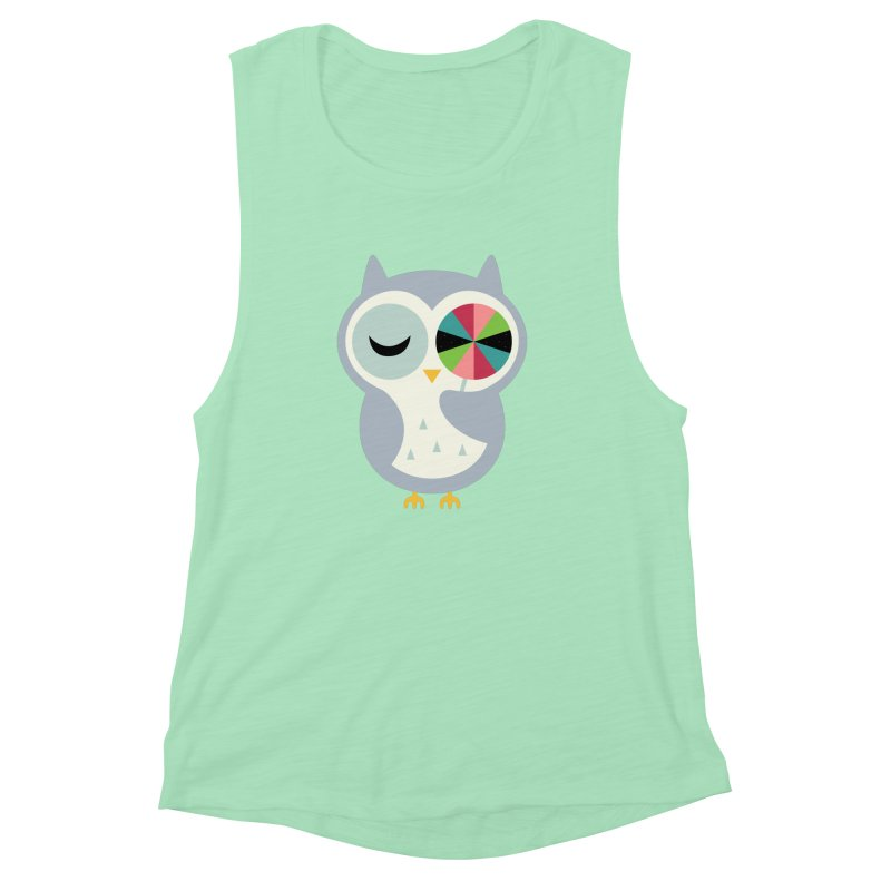 Sweet Holiday Wishes Women's Muscle Tank by andywestface's Artist Shop