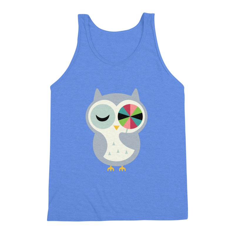 Sweet Holiday Wishes Men's Triblend Tank by andywestface's Artist Shop