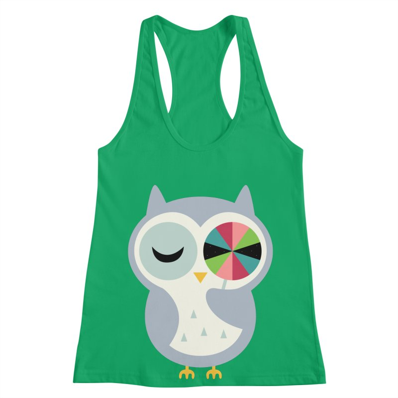 Sweet Holiday Wishes Women's Racerback Tank by andywestface's Artist Shop