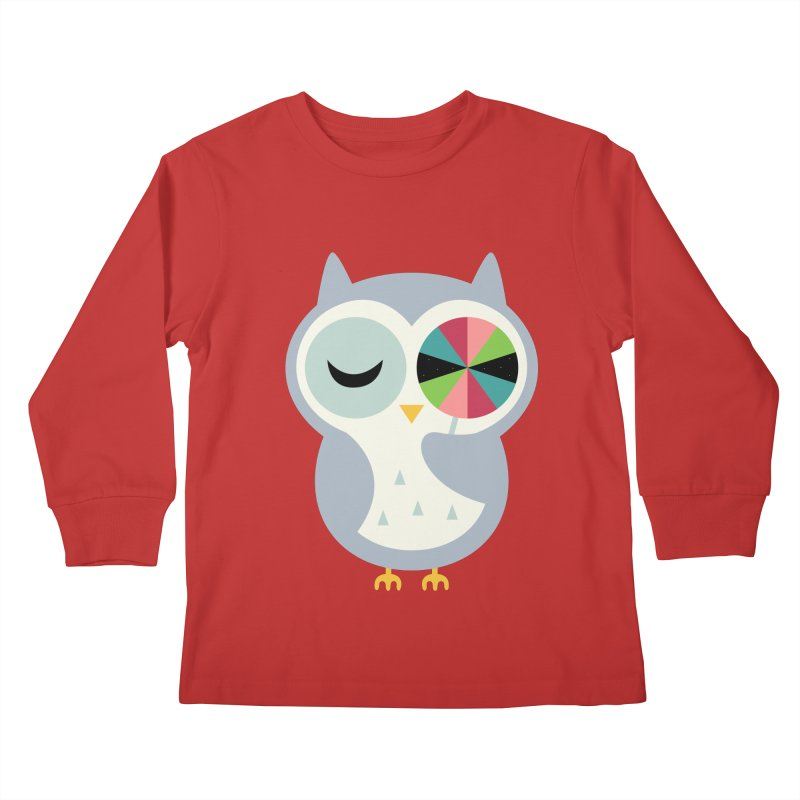 Sweet Holiday Wishes Kids Longsleeve T-Shirt by andywestface's Artist Shop