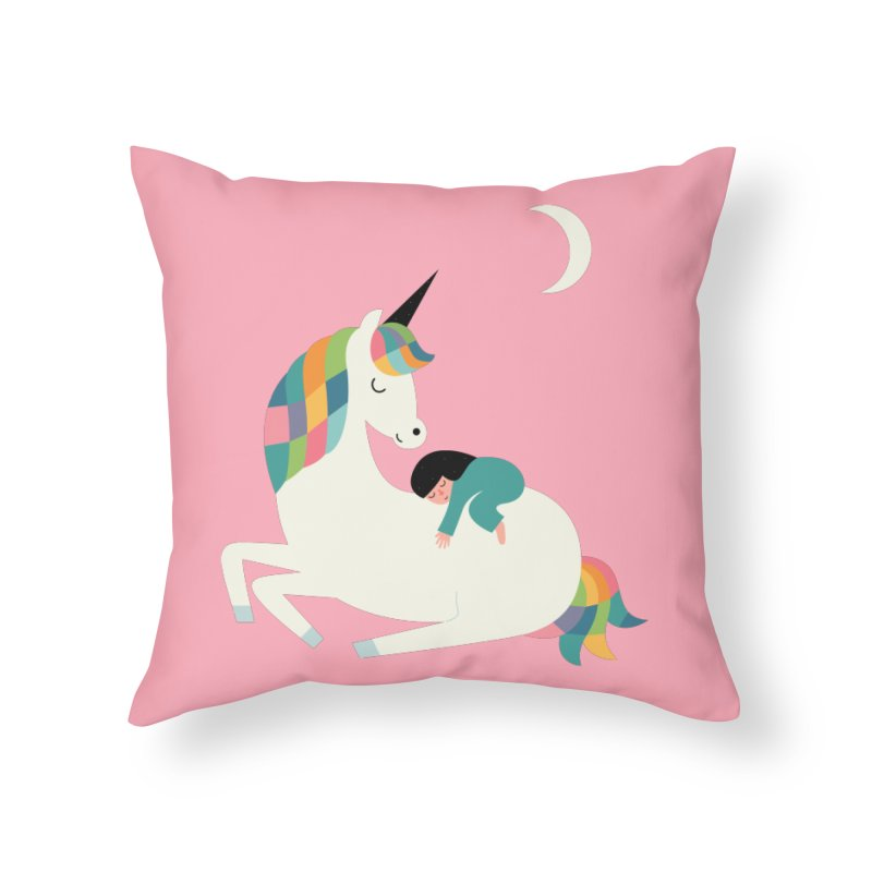 Me Time Home Throw Pillow by andywestface's Artist Shop