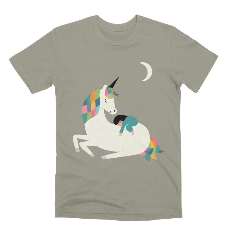 Me Time Men's Premium T-Shirt by andywestface's Artist Shop