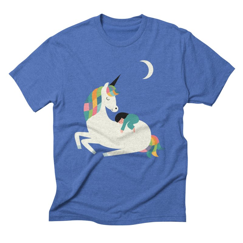 Me Time Men's Triblend T-Shirt by andywestface's Artist Shop