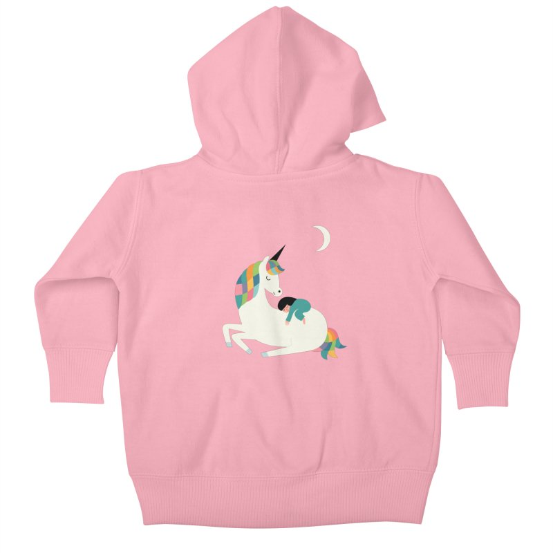 Me Time Kids Baby Zip-Up Hoody by andywestface's Artist Shop