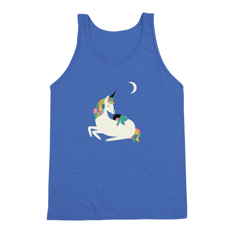 Me Time Men's Triblend Tank by andywestface's Artist Shop