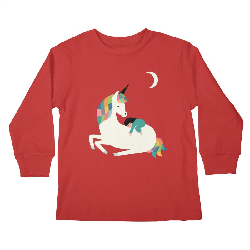 Me Time Kids Longsleeve T-Shirt by andywestface's Artist Shop
