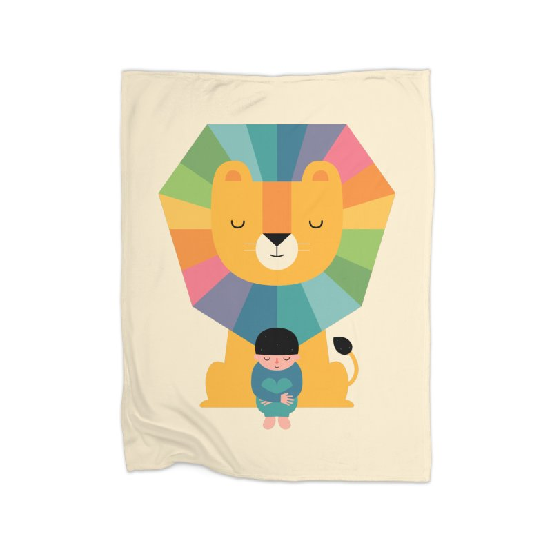 Courage Home Blanket by andywestface's Artist Shop